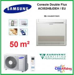 Samsung Console Double Flux Réversible - AC052MNJDKH/EU (5.0 kW)