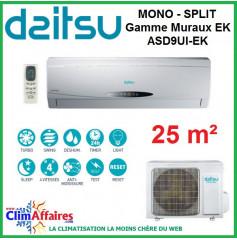 Daitsu Mural - Gamme EK - ASD9UI-EK (2.32 kW)