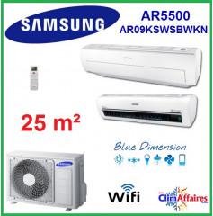 Samsung Mural Wifi - AR5500 - AR09KSWSBWKN (2.5 kW)