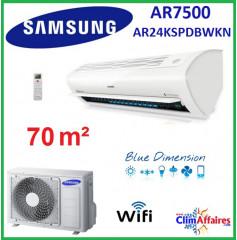 Samsung Mural Wifi - AR7500 - AR24KSPDBWKN (6.8 kW)
