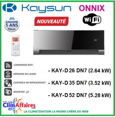Kaysun Multi-Splits Mural Inverter - Onnix - R410A - KAY-D 26 DN7 / KAY-D 35 DN7 / KAY-D 52 DN7
