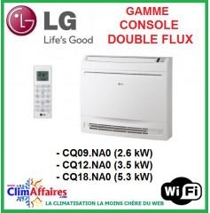 LG Climatisation - Console Double Flux - R410A - Unités Intérieures Multisplits