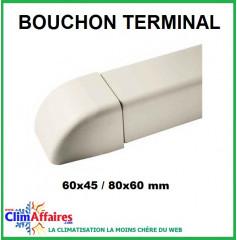 Bouchon terminal pour goulottes (60x45 / 80x60 mm)