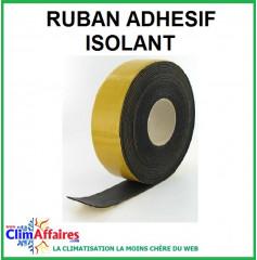 Ruban isolant adhésif Noir (10m)