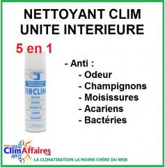 Spray FIRCLIM nettoyant désinfectant unité intérieure
