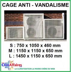 Cage de protection pour groupe extérieur (3 tailles)