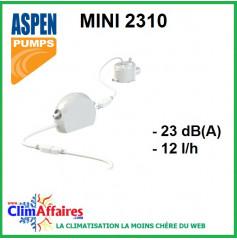Pompe de relevage Bi-Bloc - Aspen - Mini 2310 (12l/h)