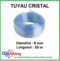 Tuyau de pompe cristal (50 m)