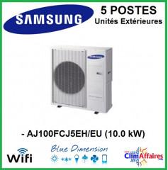 Samsung Unités Extérieures Multi-splits - Penta-Splits - AJ100MCJ5EH/EU
