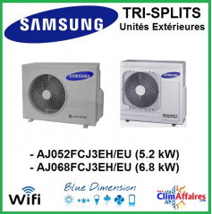 Samsung Unités Extérieures Multi-splits - Tri-Splits - AJ052MCJ3EH/EU / AJ068MCJ3EH/EU