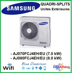 Samsung Unités Extérieures Multi-splits - Quadri-Splits - AJ070MCJ4EH/EU / AJ080MCJ4EH/EU