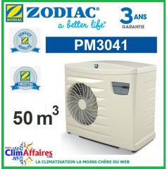 Pompe à chaleur pour piscine ZODIAC 9 kW - PM3041 (50 m³) (Anciennement Power First Premium 8 mono)