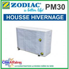 Housse Hivernage pour Pompe à chaleur pour piscine ZODIAC - Gamme PM30 , POWER FIRST PREMIUM