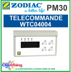 Module de commande déporté ZODIAC - Gamme PM30, Power First Premium et Power Force - WTC04004