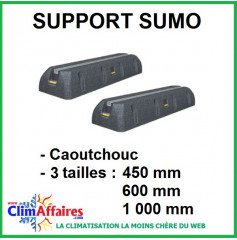 Support sol SUMO - 3 tailles : 450, 600 et 1000 mm