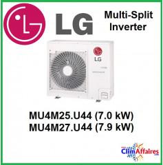 LG Climatisation Unités Extérieures Multi-split Inverter - MU4M25.U44 - MU4M27.U44