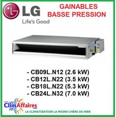 LG Gainables basse pression -  Unités Intérieures Multisplits