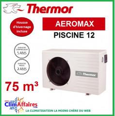 Pompe à chaleur pour piscine THERMOR - AEROMAX 12 (75 m3)