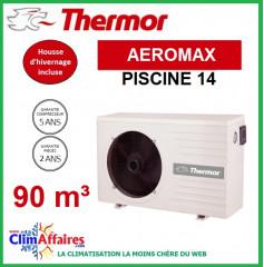 Pompe à chaleur pour piscine THERMOR - AEROMAX 14 (90 m3)