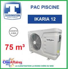 Pompe à chaleur pour piscine TEDDINGTON - IKARIA 12 (75 m3)