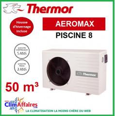 Pompe à chaleur pour piscine THERMOR - AEROMAX 8 (50 m3)