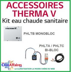 LG - Accessoire - Kit eau chaude sanitaire - PHLTA - PHLTC - PHLTB