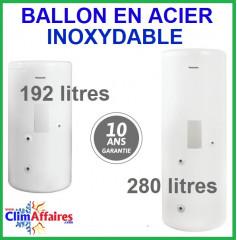 Panasonic - Accessoires - Ballon en acier inoxydable - PAW-TD20C1E5 / PAW-TD30C1E5 (192 et 280 litres)