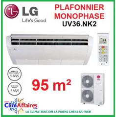 LG Climatisation - Plafonnier Monophasé - UV36.NK2 + UU36W.U02 (9.5 kW)
