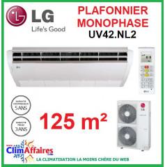 LG Climatisation - Plafonnier Monophasé - UV42.NL2 + UU42W.U32 (12.5 kW)