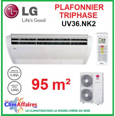LG Climatisation - Plafonnier Triphasé - UV36.NK2 + UU37W.U02 (9.5 kW)