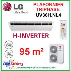 LG Climatisation - Plafonnier H-Inverter Triphasé - UV36H.NL4 + UU37WH.U33 (9.5 kW)