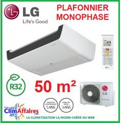 LG Climatisation - Plafonnier Monophasé - R32 - UV18R.N10 + UU18WR.U20 (5.0 kW)