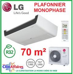 LG Climatisation - Plafonnier Monophasé - R32 - UV24R.N10 + UU24WR.U40 (6.8 kW)