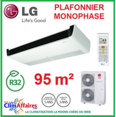 LG Climatisation - Plafonnier Monophasé - R32 - UV36R.N20 + UU36WR.U30 (9.5 kW)