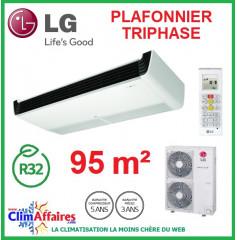 LG Climatisation - Plafonnier Triphasé - R32 - UV36R.N20 + UU37WR.U30 (9.5 kW)