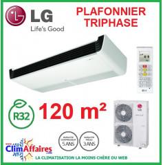 LG Climatisation - Plafonnier Triphasé - R32 - UV42R.N20 + UU43WR.U30 (12.0 kW)