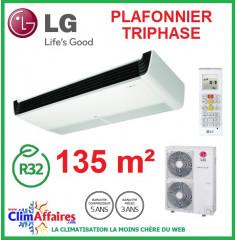 LG Climatisation - Plafonnier Triphasé - R32 - UV48R.N20 + UU49WR.U30 (13.4 kW)