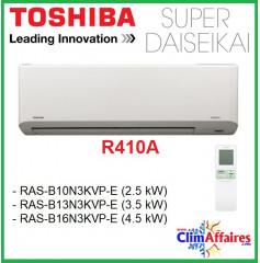 Toshiba Unité Intérieure - Super Daiseikai 6.5 - R410A - RAS-B10N3KVP-E / RAS-B13N3KVP-E / RAS-B16N3KVP-E