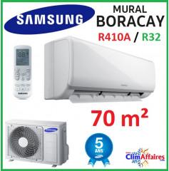 Samsung Mural - BORACAY - R32 ou  R410A - AR24NSFHBWKNEU + AR24NSFHBWKXEU (6.5 kW)