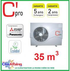 Pompe à chaleur pour piscine C'PRO 7.2 kW - PAC PISCINE 72 (35 m³)