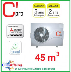 Pompe à chaleur pour piscine C'PRO 9.1 kW - PAC PISCINE 91 (45 m³)