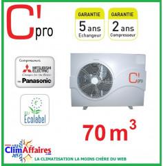 Pompe à chaleur pour piscine C'PRO 13.1 kW - PAC PISCINE 131 (70 m³)