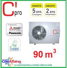 Pompe à chaleur pour piscine C'PRO 17.2 kW - PAC PISCINE 172 (90 m³)