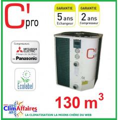 Pompe à chaleur pour piscine C'PRO 21 kW - PAC PISCINE 210 (130 m³)