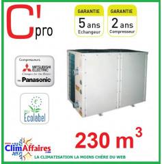 Pompe à chaleur pour piscine C'PRO 50 kW - PAC PISCINE 500 (230 m³)
