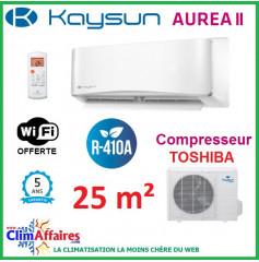 Kaysun - AUREA II - R410A - KAY-S 26 DR8 + KAE-S 26 DN7 (2.64 kW)