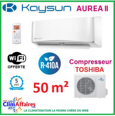 Kaysun - AUREA II - R410A - KAY-S 52 DR8 + KAE-S 52 DN7.1 (5.28 kW)