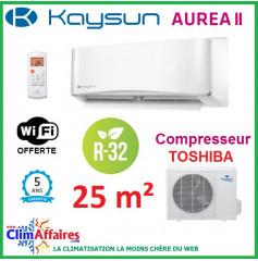 Kaysun - AUREA II - R32 - KAY-S 26 DR8 + KAE-S 26 DR8 (2.64 kW)