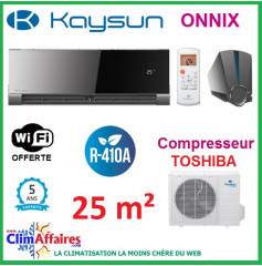 Kaysun - ONNIX - R410A - KAY-D 26 DN7 + KAE-26 DN7 (2.64 kW)
