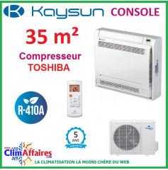 Kaysun - CONSOLE DOUBLE FLUX - R410A - KSD-35 DR11 + KUE-35 DVN11 (3.52 kW)